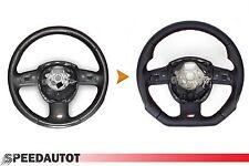 Scambio Tuning S-LINE spianate Volante Multifunzione Volante in Pelle Audi a6