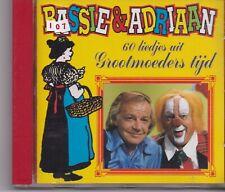 Bassie&Adriaan-60 Liedjes Uit Grootmoeders Tijd cd album