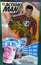 "Very Rare Original 12"" Inch Action Man V.R. Vision Mib Hasbro 1995"