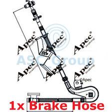 APEC BRAKING 275mm Scheibe Bremssattel flexibel GUMMISCHLAUCH hos3938