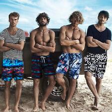 Men's Summer Beach Sport Shorts Swimwear Swim Trunks Surf Board Low Waist Pants