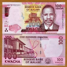 Malawi, 100 Kwacha, 2016, P-59-New, UNC