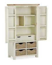 Daymer Painted Larder Unit / Off White Kitchen Larder / Kitchen Storage Unit