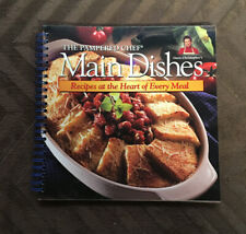 THE PAMPERED CHEF Cookbook ~MAIN DISHES~ Recipes at the Heart of Every Meal!!