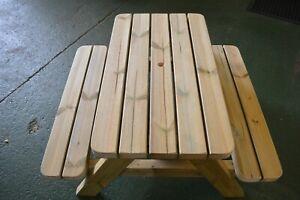 Kids Wooden Picnic Table, Premium children's Picnic bench