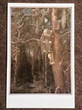 Hobbit Rare Print Fantasy Art Alan Lee Lord Of The Rings Tolkien The Wargs 1997