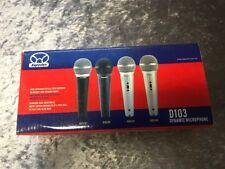 SUPERLUX Gesangmikrofon D103 in silber mit XLR Kabel und Mikrofonhalter - NEU !