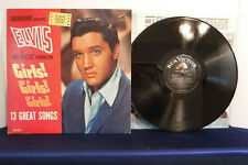 Elvis Presley, Girls Girls Girls, RCA Victor Records LPM 2621, 1962, Soundtrack