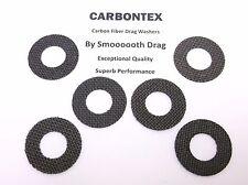 PENN REEL PART Senator 115 9/0 - (6) Smooth Drag Carbontex Drag Washers #SDP16