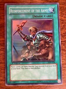 Yu-Gi-Oh! Reinforcement of the army LOD-028 1st Edition Near Mint