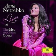 "ANNA NETREBKO ""ANNA LIVE FROM THE...""CD NEW!"