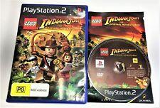 PLAYSTATION 2 PS2 | LEGO INDIANA JONES THE ORIGINAL ADVENTURES | COMPLETE PAL