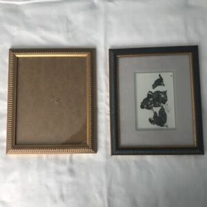 Shabby chic Ornate French style Picture Photo frame Gold & Grey Black
