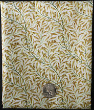 William Morris Wilton Bough Tan Green 100% Cotton Quilting Crafting Sewing BTHY