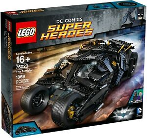 LEGO DC COMICS SUPER HEROES 76023 The Tumbler BRAND NEW and SEALED!