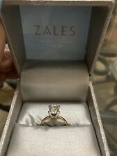 1.67CT Solitaire Princess Cut Diamond Ring