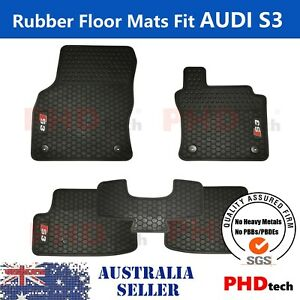 Prime Quality All Weather Rubber Car Floor Mats for A3 S3 2013~2021