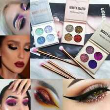 Pro 4 Colors Shimmer Eyeshadow Makeup Matte Eye Shadow Glitter Palette Cosmetic