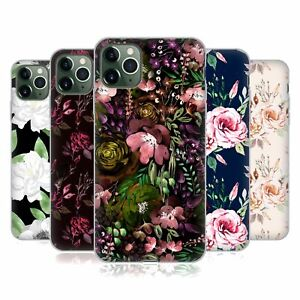 OFFICIAL ANIS ILLUSTRATION FLOWER PATTERN 3 GEL CASE FOR APPLE iPHONE PHONES