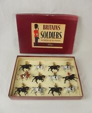 In scatola Britains SOLDATI ROAN Set 9406 Band of the Life Guards c1950's