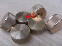 1pcs Diameter 44mm height 22mm all aluminum solid Volume knob gold silver black