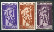 Italy. 1930 ferrucci set mint