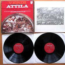 Philips 6700 056 Verdi Attila Deutekom Milnes Gardelli 2xLP + booklet NM/VG