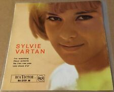 "SYLVIE VARTAN - COMIN HOME BABY - RCA 7"" P/S French sung version Mel Torme HEAR"