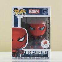 Funko POP! Marvel Spider-Armor MKIII #670 Walgreens Exclusive Vinyl Figure New!