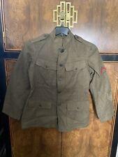 New ListingOriginal Wwi Ww1 Us Army Quartermaster Green Wool Jacket Tunic Uniform