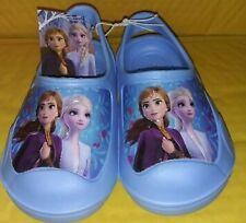 Disney's Frozen Toddler Girls Clogs Elsa-and-Anna Size 7/8