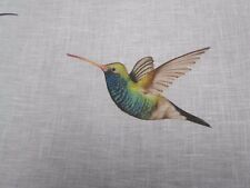 Harlequin Fabric 'AMAZILIA' 3 METRES (300cm) Flamingo/Papaya/Apple - 100% Linen