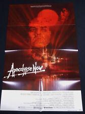 Apocalypse Now 1979 * Marlon Brando * Martin Sheen * One Sheet * C10 Mint Unused