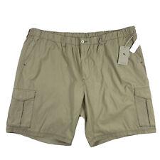 New Men's Tommy Bahama Island Survivalist Cargo Stone Khaki Men's Shorts 4XLB