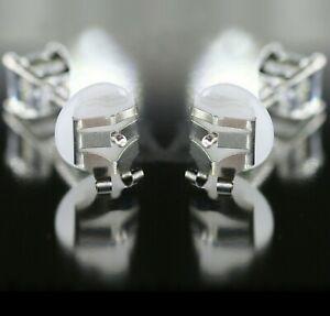 4 x Lox Locking Earring Backs Butterfly Fittings - Secure Safe Anti-Allergy