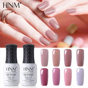 HNM Nude Colour Series Gel Nail Polish UV LED Manicure Salon Lacquer Top Base