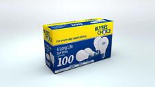 48 bulbs!! 100 WATT INCANDESCENT SOFT WHITE LIGHT BULBS 1500 HOURS long life