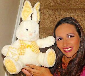 Yellow Spring Easter Hallmark Sunnyside bunny rabbit plush NEW TAGS LOVEY TOY