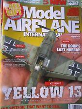 Model Airplane Int. Nov 18 Airfix 1/72 Bf109E-3,Eduard 1/48 FW 190D-9