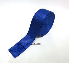 Cinghia Nylon Fettuccia Nastro Multi-purpose Nylon Webbing Blu 5m X h 4,0cm