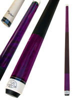 Champion ST8 Purple Pool Cue Stick, Cuetec Glove,Two Black layer tips