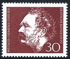 Germany 968, MNH. Werner von Siemens, Electrical Engineer and Inventor, 1966