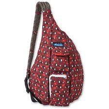 KAVU Womens Rope Sling Bag Backpack RACCOON 923-670 Travel New Raccoons