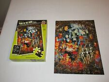 Master Pieces Monsters Night Out Glow In The Dark 100 Piece Puzzle Halloween