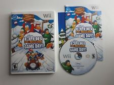 Club Penguin: Game Day game for Nintendo Wii -Complete CIB - FREE SHIPPING !!