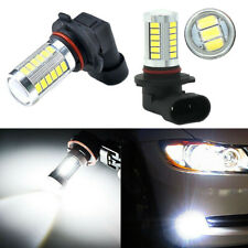 2Pcs 9006 HB4 33-SMD 5730 LED High Power Driving Daytime Running Fog Light Bulbs