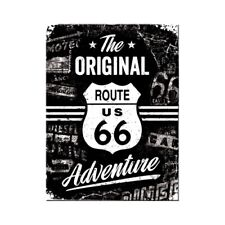Magnet Souvenir Route 66 Adventure Motorcycle Refrigerator Fridge, 8 cm, New