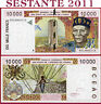 (com) WEST AFRICAN STATE  IVORY COAST -  10000 10.000 FRANCS 1995 - P 114Ac - XF