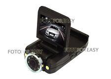 Vehicle Rolling 270° LCD & 180° Lens DVR Car Camera Video Recorder HD 1280*720P