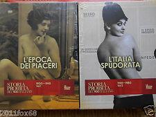 storia proibita del 900 l'italia spudorata l'epoca dei piaceri 2 box set nuovi z